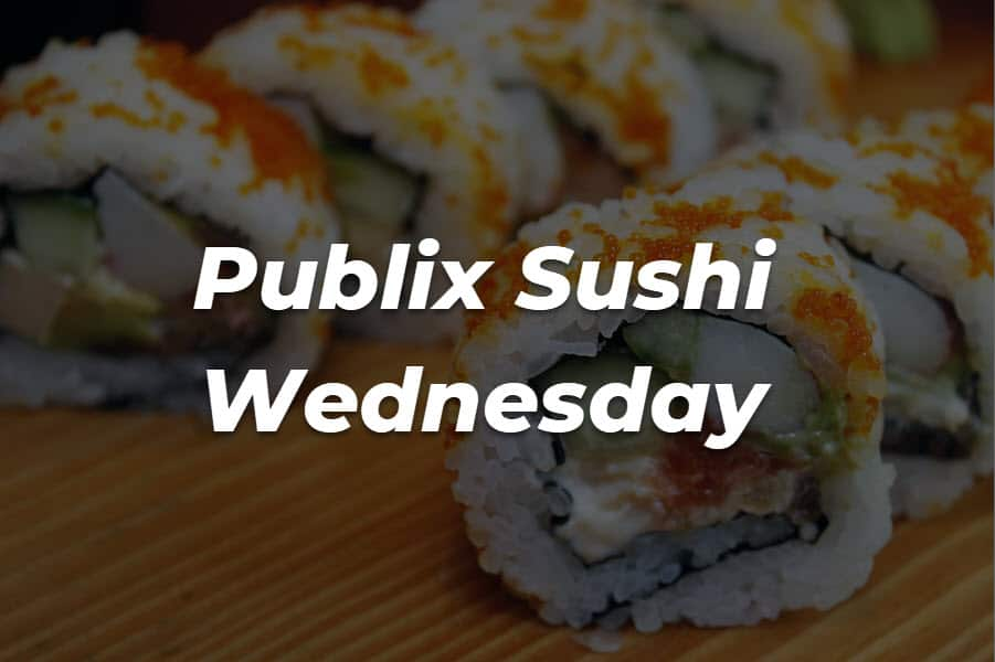 A Full Review Of Publix Sushi Wednesday The Healthy Patron We offer online ordering and delivery. a full review of publix sushi wednesday