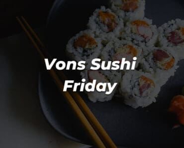 vons sushi review