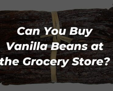 can you buy vanilla beans at the grocery store