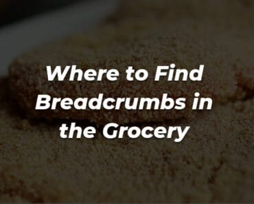 where are breadcrumbs in grocery store